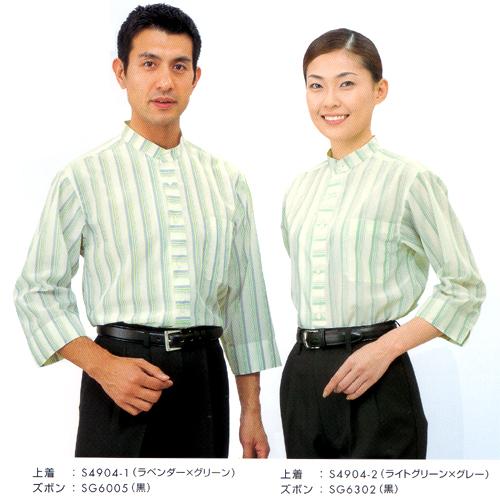 ストライプシャツ S4904